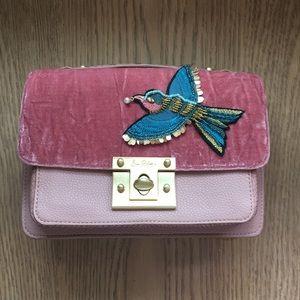 Sam Edelman velvet hummingbird purse